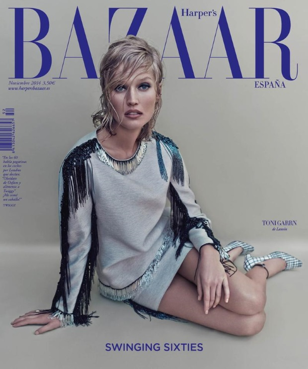 Harper's Bazaar November 2014 Toni Garrn
