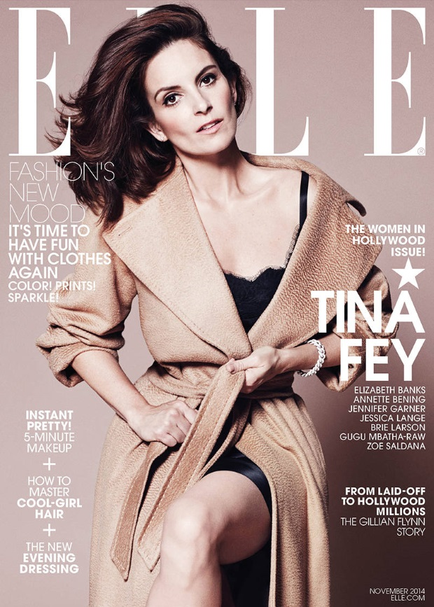 US Elle November 2014 Women In Hollywood