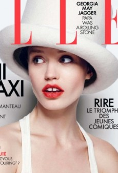 Georgia May Jagger Plays Dress Up on ELLE France's Latest Cover (Forum Buzz)