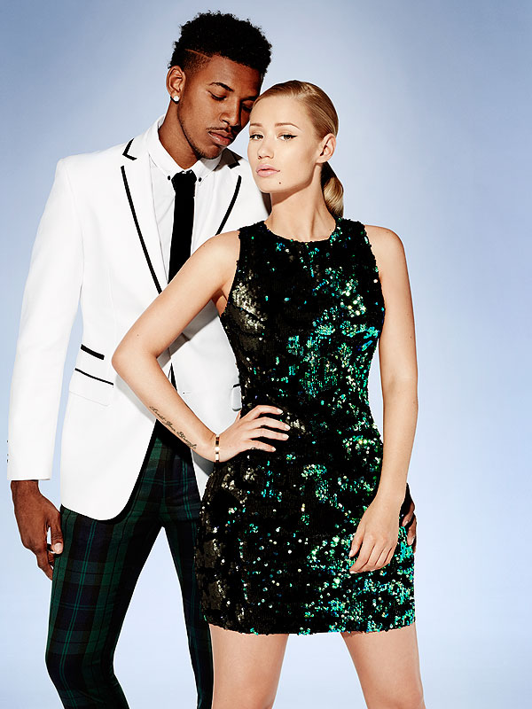 Iggy Azalea and Boyfriend Nick Young Front Forever 21′s Holiday Campaign