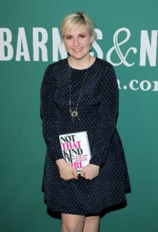 Sophia Amoruso Dresses Lena Dunham for 'Not That Kind of Girl' Book Tour
