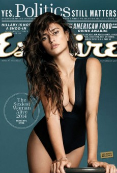 Penélope Cruz Is Esquire's Sexiest Woman Alive