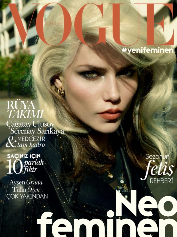 Vogue Turkey October 2014 Natasha Poly