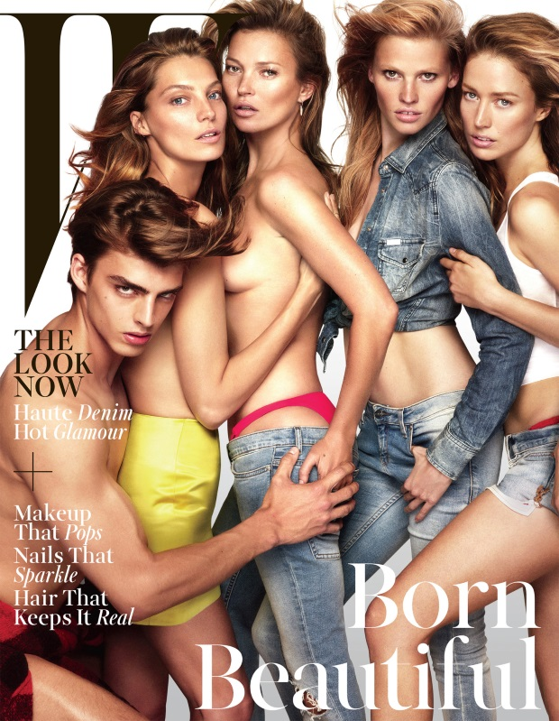 Mert & Marcus Photograph Kate, Daria, Lara and More for W's Spectacular November Cover (Forum Buzz)