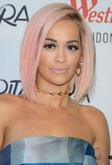Get the Look: Rita Ora's Nude Lips and Lush Lashes