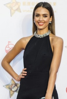 No Need for a Necklace: Jessica Alba, Fergie and More Celebs in Embellished Halters