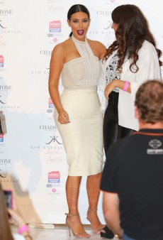 Much Latex, Little Time for Kim Kardashian in Melbourne