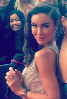 How Everyone Reacted to Laurina Fleure's Interviewing Gig at the 2014 ARIA Awards