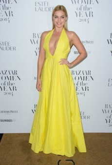 Margot Robbie Baffles in Bright Yellow at Harper's Bazaar Women of the Year Awards