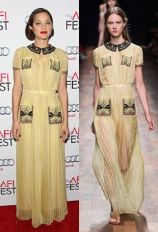Runway to Real Life: Marion Cotillard in Valentino, Giovanna Battaglia in Christian Dior and More (Forum Buzz)