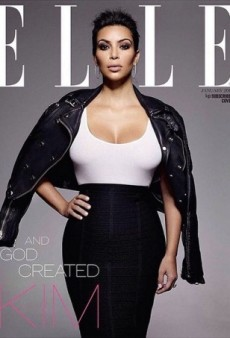 See Kim Kardashian's Brand New Cover for UK Elle's Confidence Issue (Forum Buzz)