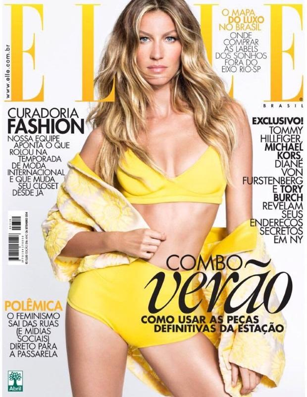 Elle Brazil November 2014 Gisele Bundchen