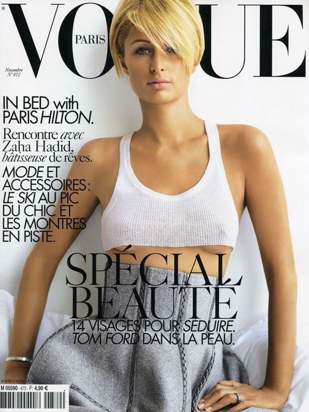 Flashback Vogue Paris November 2006 Paris Hilton Mario Testino
