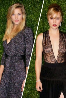 Melissa George Flashes Nipples, Jessica Hart Covers up in DVF at 11th Annual CFDA/Vogue Fashion Fund Awards