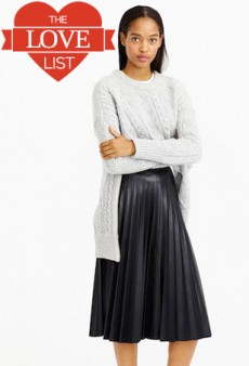 Motorcycle Bags, Faux Leather Midi Skirts and More: The Love List