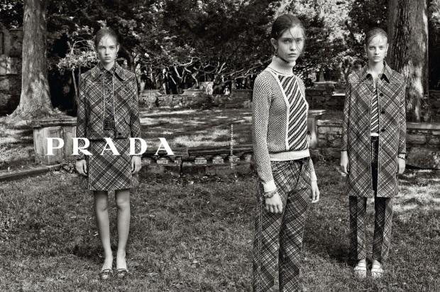 Ad Campaign Prada Resort 2015 Steven Meisel