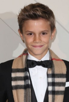Romeo Beckham Allegedly Made a Killing Off That Burberry Film