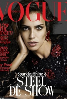 Have We Seen This Before? Amanda Wellsh Poses for Vogue Netherlands' December Cover (Forum Buzz)