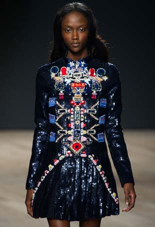 Mary Katrantzou Fall 2014; Image: IMaxTree