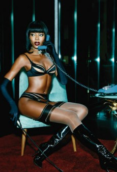 Naomi Campbell Stars in Agent Provocateur's Spring Campaign