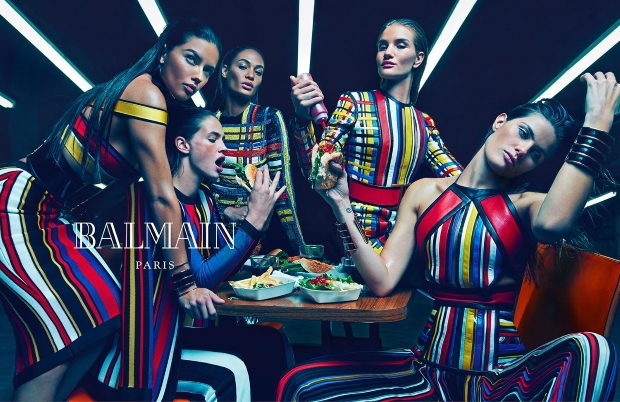 Ad Campaign Balmain Spring 2015 Mario Sorrenti