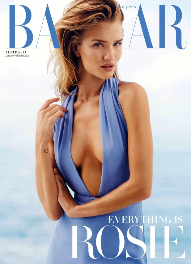 Harper's Bazaar Australia Jan 14 Feb 15 Rosie Huntginton-Whiteley