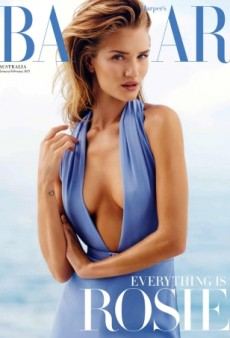 Check Out Rosie Huntington-Whiteley on Harper's Bazaar Australia's Latest Cover (Forum Buzz)