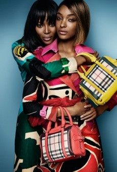 Watch: Jourdan Dunn and Naomi Campbell in Action for Burberry Spring 2015