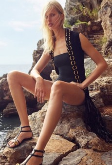 Karolina Kurkova Is the New Face of Giuseppe Zanotti's Spring 2015 Collection (Forum Buzz)