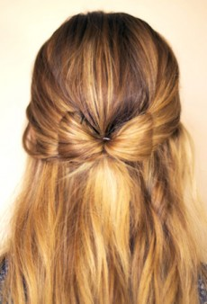 Top 10 Holiday Hair Tutorials on Pinterest Right Now