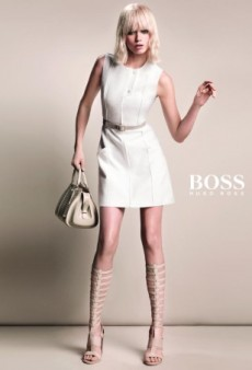 A Wig-Wearing Abbey Lee Kershaw Returns for Hugo Boss Spring 2015 Ad Campaign (Forum Buzz)