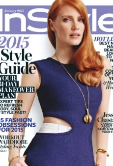 A Celine-Clad Jessica Chastain 'Looks Amazing' on InStyle's January Cover (Forum Buzz)