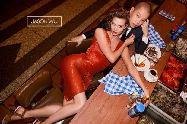 Ad Campaign Jason Wu Spring 2015 Karlie Kloss