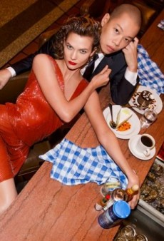 Karlie Kloss Poses with Jason Wu for the Designer's Spring 2015 Ad Campaign (Forum Buzz)