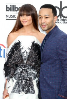 Chrissy Teigen and John Legend Feed Eric Garner Protesters