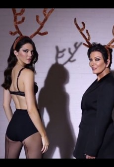 Watch: Kendall and Kris Jenner Team Up for Love's Advent Calendar
