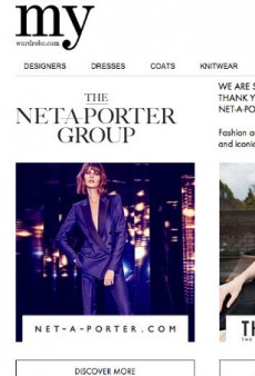 My-Wardrobe Shutters, Sells Domain to Net-a-Porter