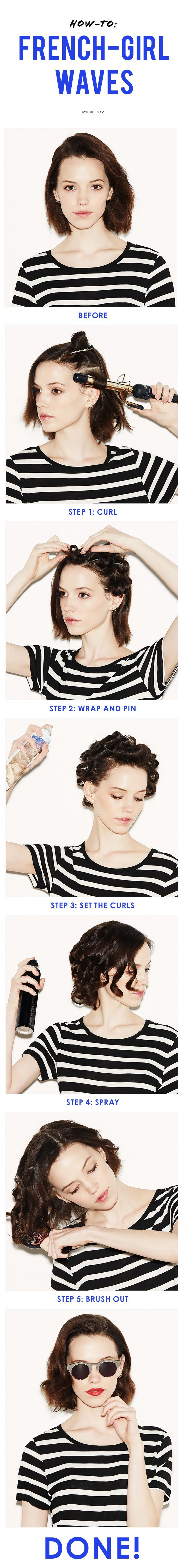 Holiday Hairstyles For Short Hair TheFashionSpot