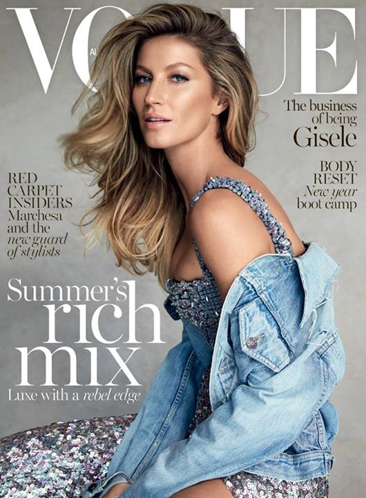 Vogue Australia January 2015 Gisele Bundchen