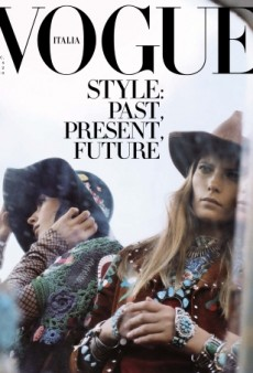 Model Valerija Kelava on Vogue Italia's December Cover Makes Our Year! (Forum Buzz)