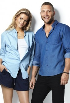 Elyse Taylor and Jai Courtney Front Bonds' Denim-Friendly Autumn 2015 Campaign