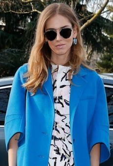 Chiara Ferragni Dials Up the Dior at Paris Men's Fashion Week