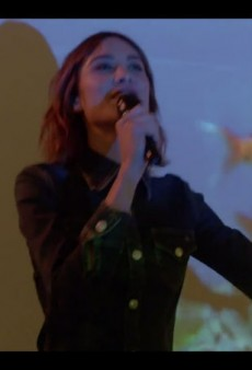 Alexa Chung Sings to Promote Her AG Denim Collaboration
