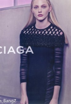 We're Bored with Balenciaga's Ad Campaign Featuring Sasha Pivovarova (Forum Buzz)
