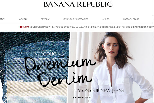Image: Banana Republic