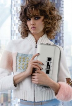 Lindsey Wixson's Hair Completely Ruins Fendi's Spring 2015 Ad Campaign (Forum Buzz)