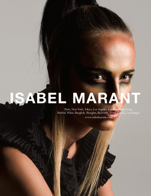 Ad Campaign Isabel Marant Spring 2015 Natasha Poly