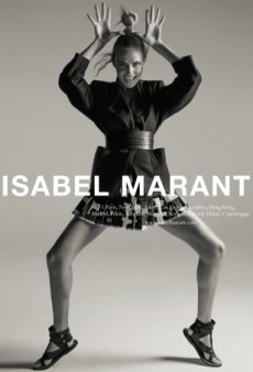 Isabel Marant Taps Natasha Poly for Fierce New Ad Campaign (Forum Buzz)