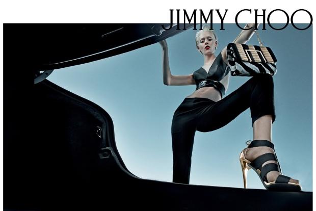 Ad Campaign Jimmy Choo Spring 2015 Ondria Hardin