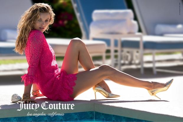 Ad Campaign Juicy Couture Spring 2015 Edita Vilkeviciute